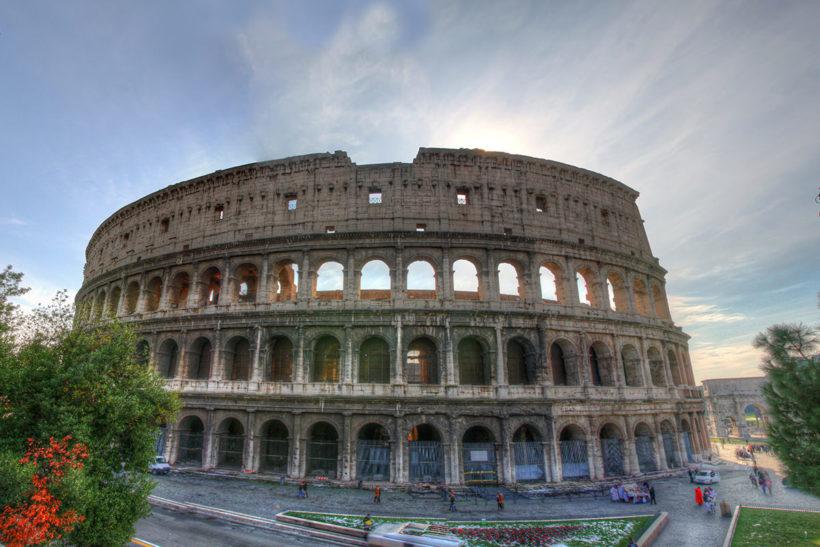 IndoEuropean Travels Europe 100 Italy Rome Colosseum