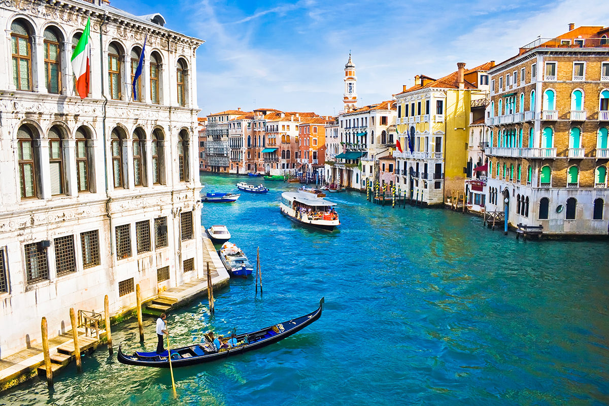 IndoEuropean Travels Europe 113 Italy Venice Channel