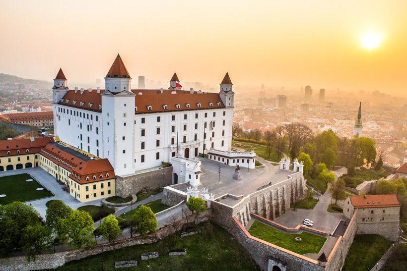 IndoEuropean Travels Europe 114 Slovakia Bratislava