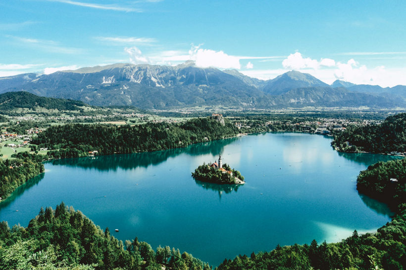 IndoEuropean Travels Europe 15 SLOVENIA Lake Bled