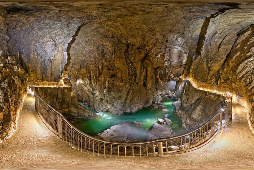 IndoEuropean Travels Europe 16 SLOVENIA Postojnska Cave