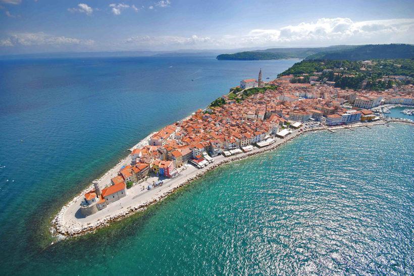 IndoEuropean Travels Europe 18 Slovenija Piran