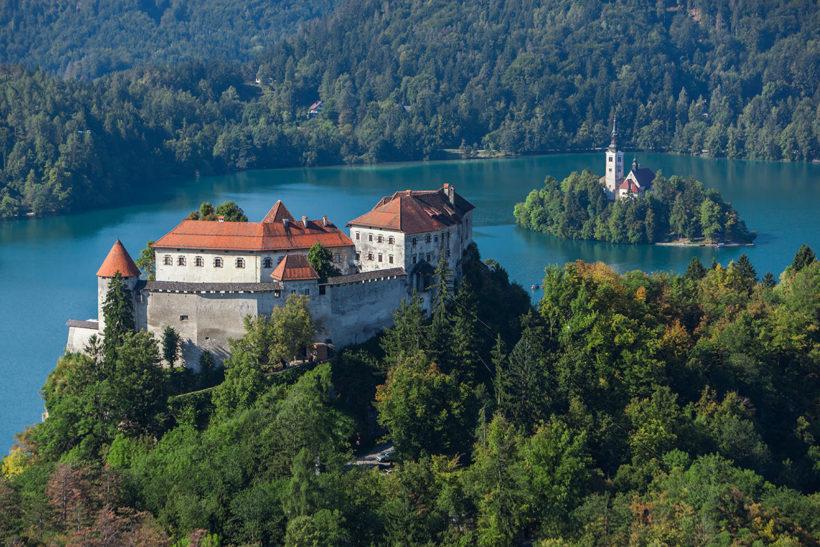 IndoEuropean Travels Europe 19 Slovenia Lake Bled