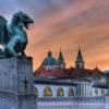 IndoEuropean Travels Europe 20 Slovenia Ljubljana Dragon Bridge