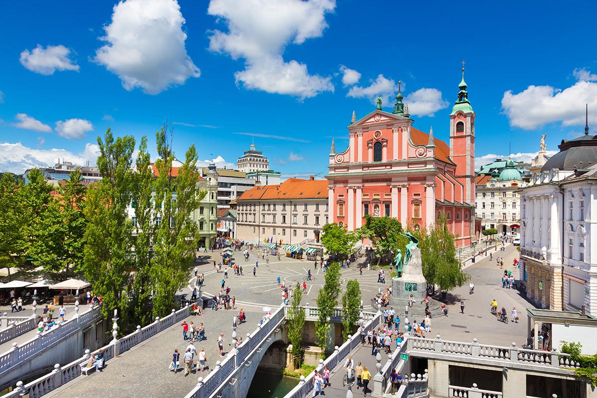IndoEuropean Travels Europe 23 SLOVENIA Ljubljana City