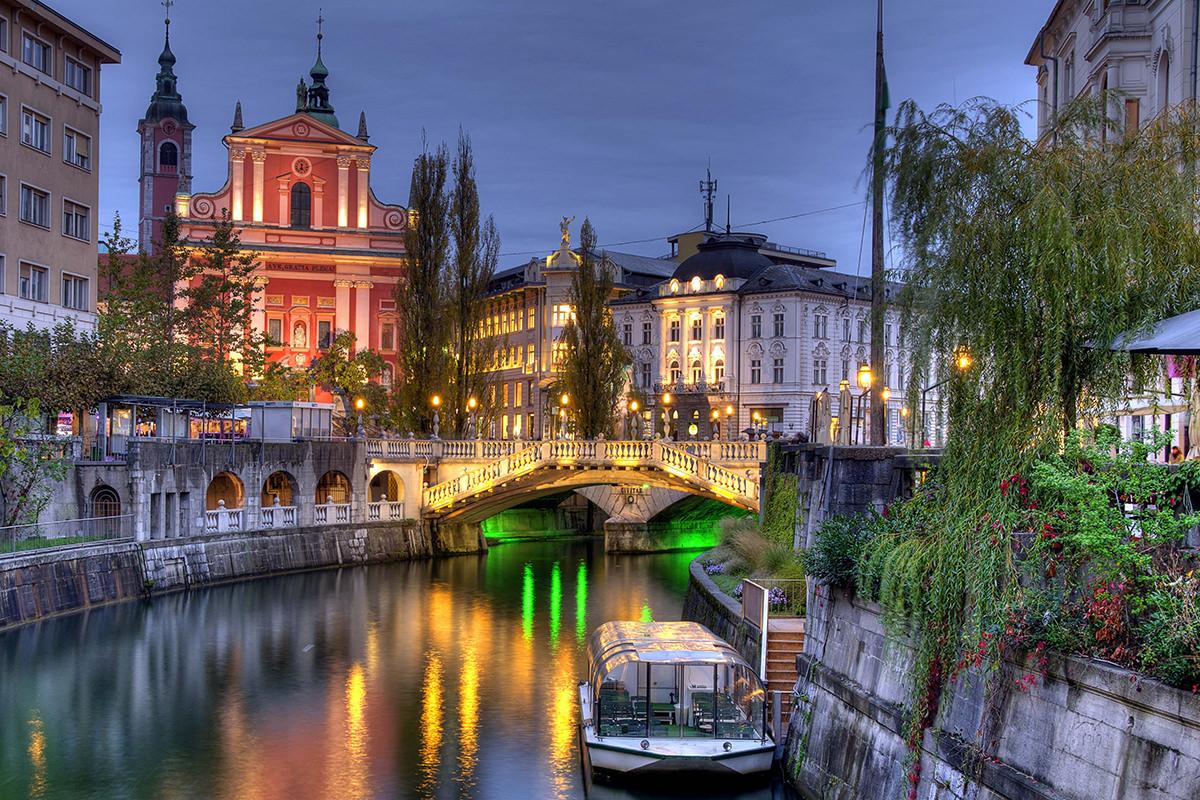 IndoEuropean Travels Europe 24 SLOVENIA Ljubljana City