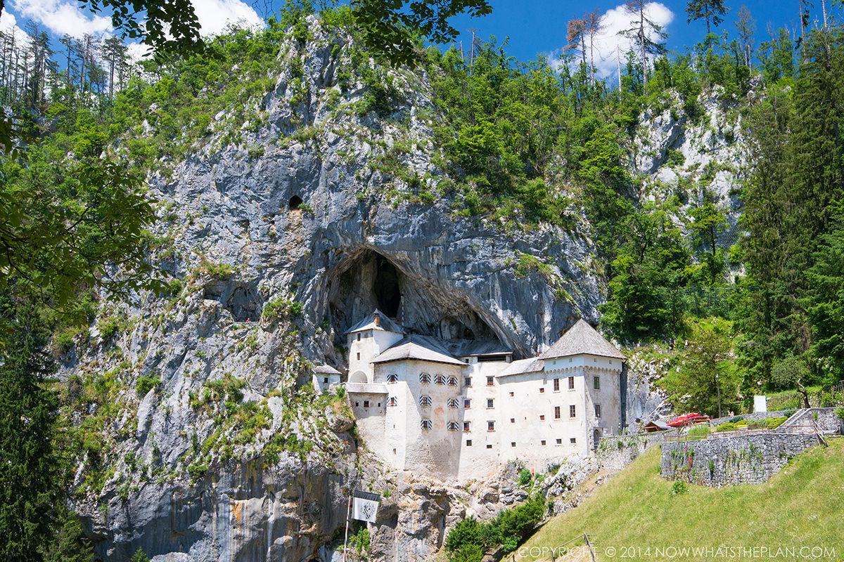 IndoEuropean Travels Europe 26 SLOVENIA Predjama Castle