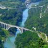 IndoEuropean Travels Europe 28 Slovenia Solkan Bridge Soca River