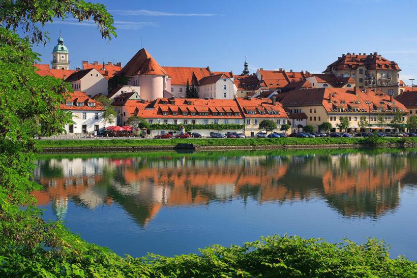 IndoEuropean Travels Europe 38 Slovenija Maribor Lent
