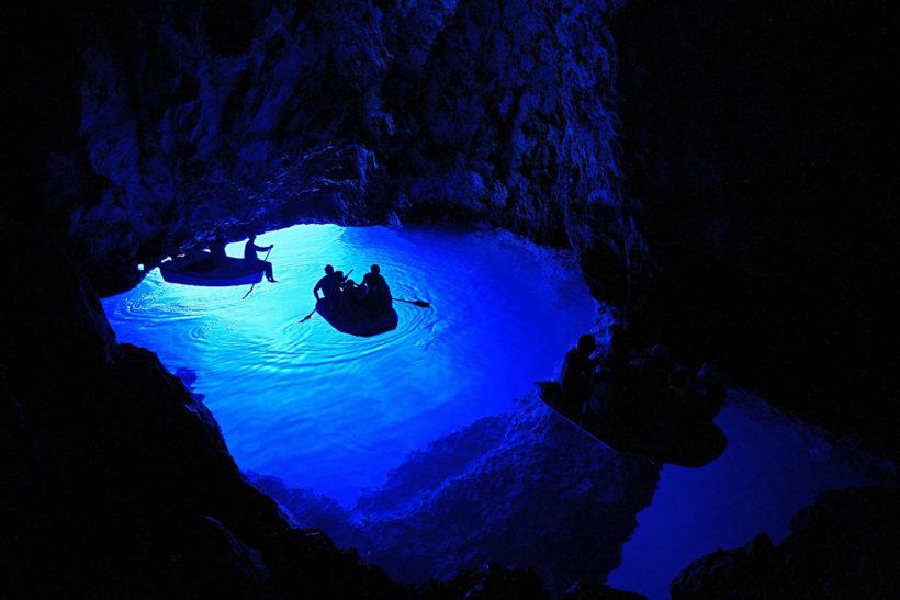 IndoEuropean Travels Europe 39 CROATIA Blue Cave