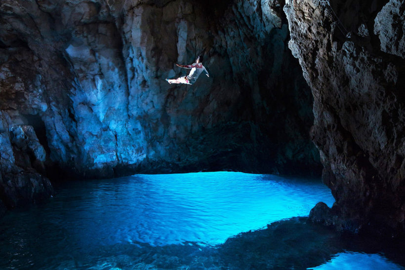 IndoEuropean Travels Europe 40 CROATIA Blue Cave