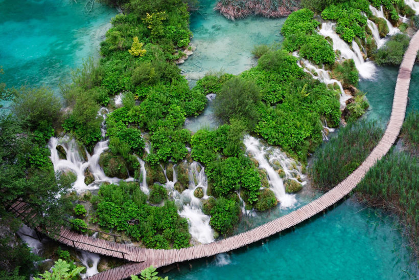IndoEuropean Travels Europe 45 CROATIA Plitvice Lakes National Park