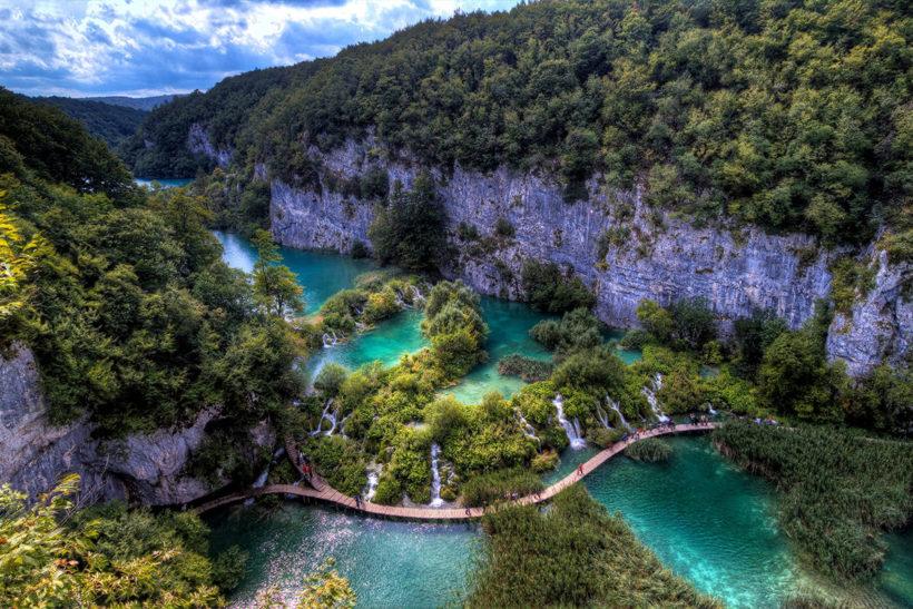 IndoEuropean Travels Europe 46 CROATIA Plitvice Lakes National Park