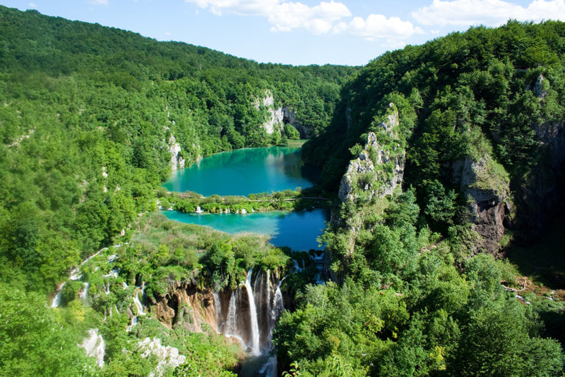IndoEuropean Travels Europe 47 CROATIA Plitvice Lakes National Park