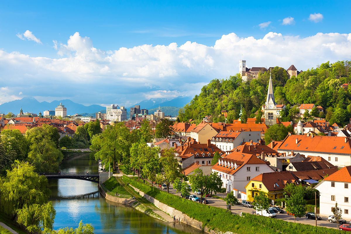 IndoEuropean Travels Europe 49 SLOVENIA Ljubljana City