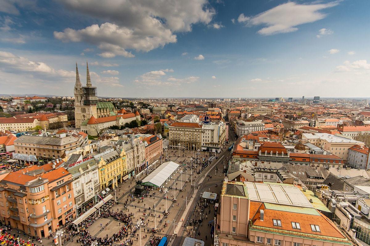 IndoEuropean Travels Europe 54 CROATIA Zagreb