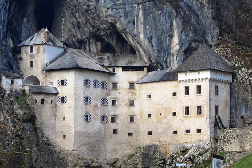 IndoEuropean Travels Europe 55 SLOVENIA Predjama Castle