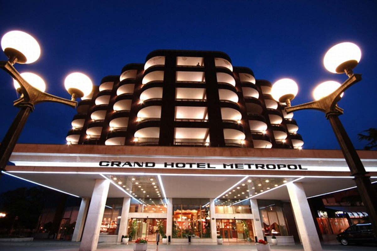 IndoEuropean Travels Europe 69 SLOVENIA Grand Hotel Metropol