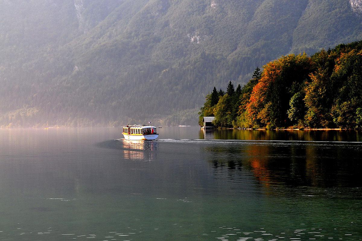 IndoEuropean Travels Europe 71 SLOVENIA Lake Bohinj