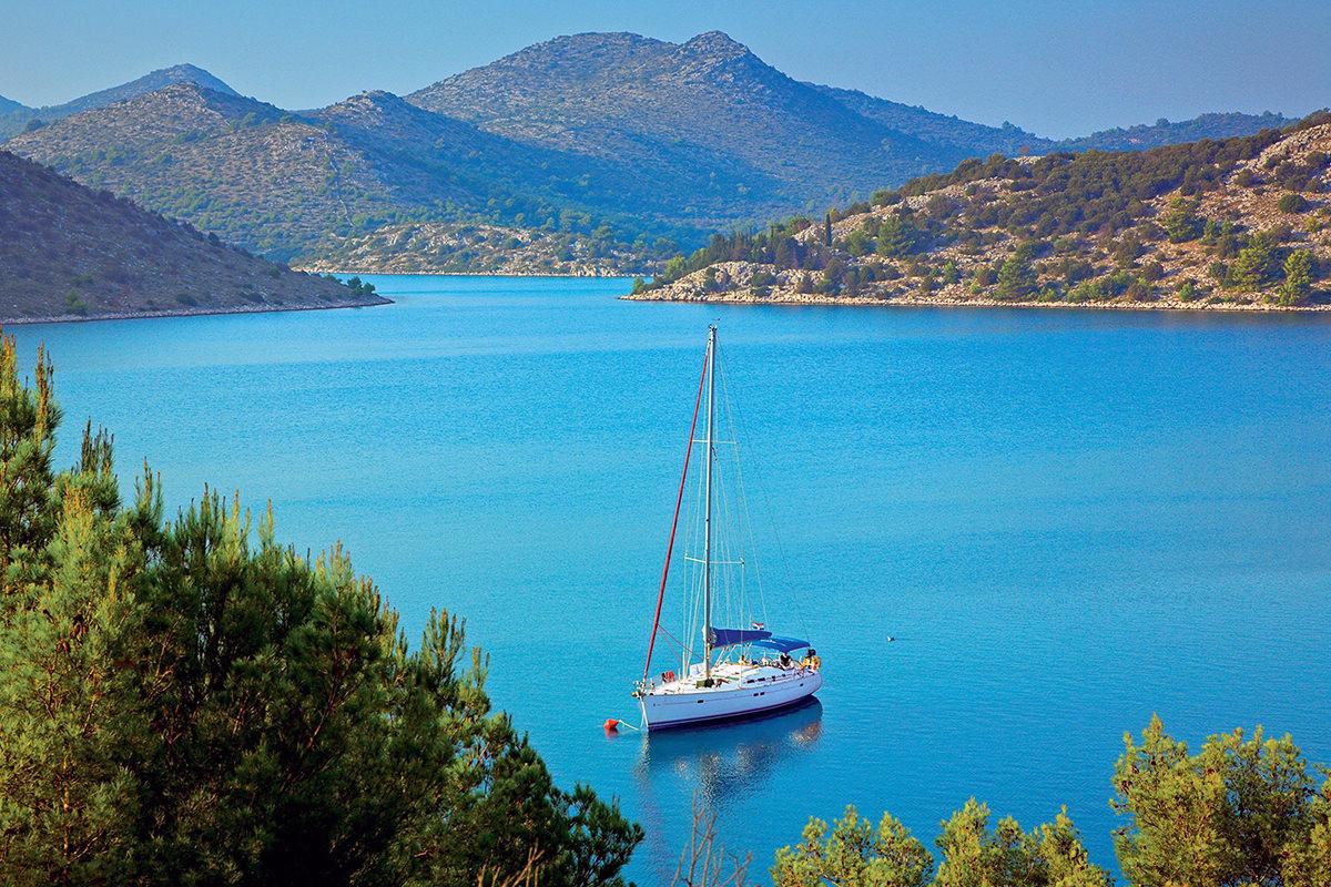 IndoEuropean Travels Europe 83 CROATIA Kornati Sailing