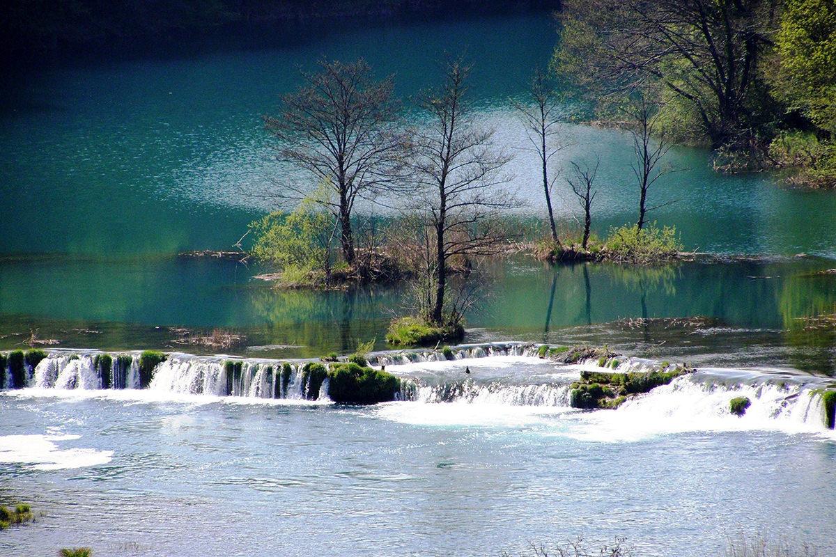 IndoEuropean Travels Europe 84 CROATIA Mreznica River