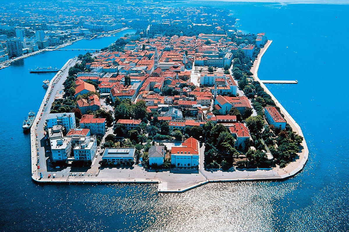 IndoEuropean Travels Europe 88 Croatia Zadar