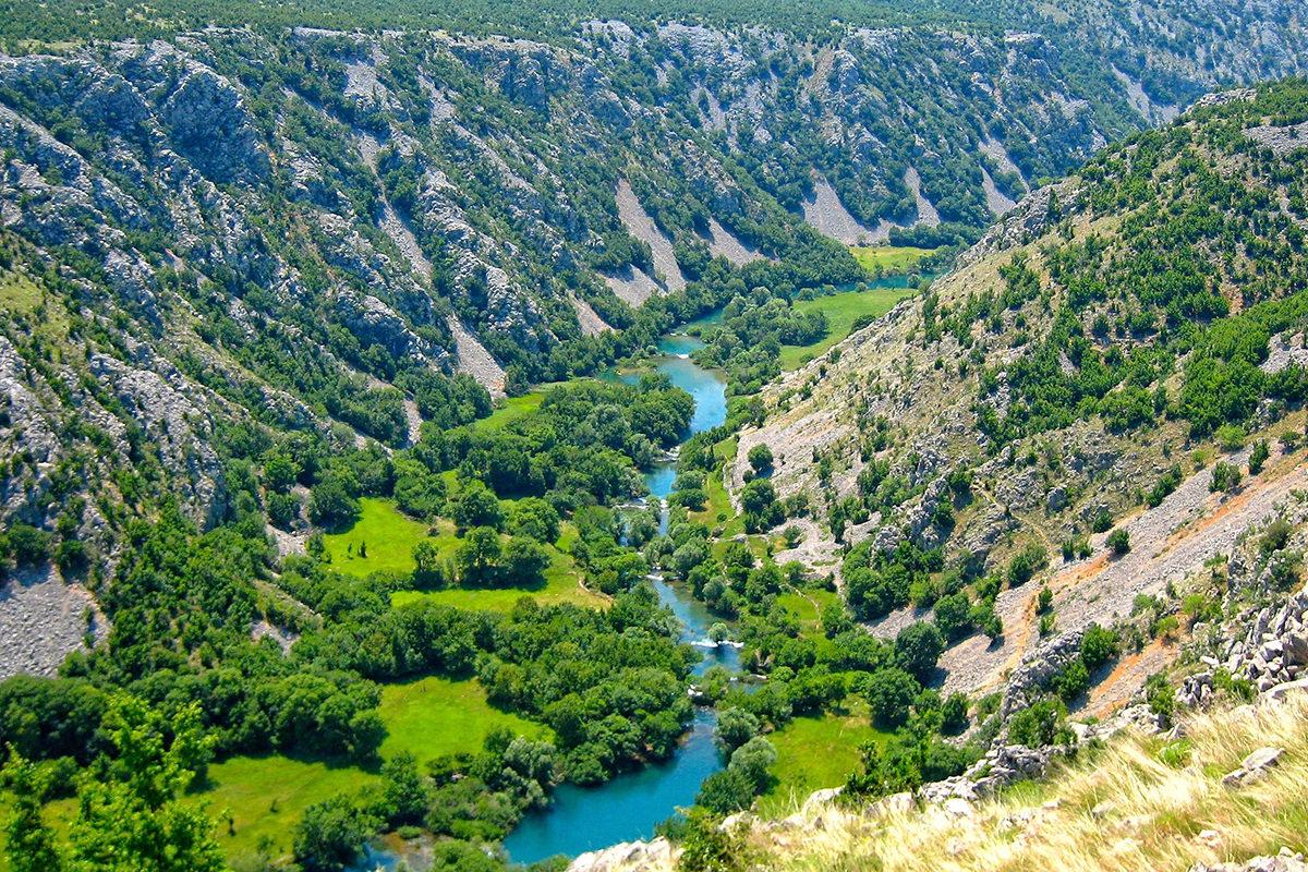 IndoEuropean Travels Europe 91 CROATIA Zrmanja River