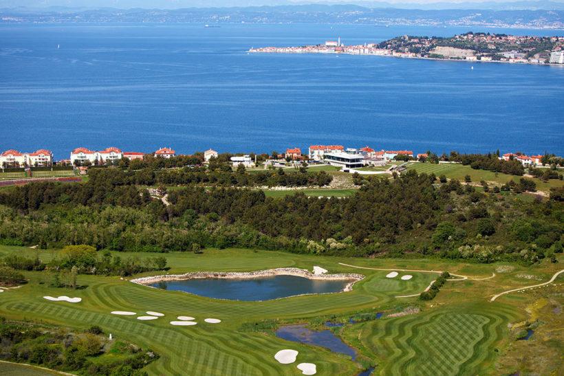 IndoEuropean Travels Europe 93 CROATIA Adriatic Golf Course
