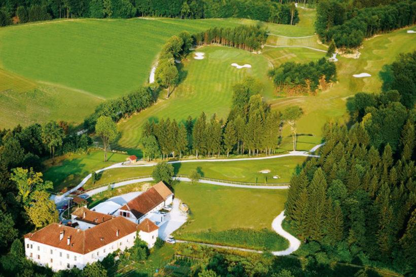 IndoEuropean Travels Europe 94 Slovenia Golf Course Otocec