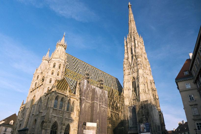 IndoEuropean Travels Europe 98Austria Vienna St Stephen S Chatedral